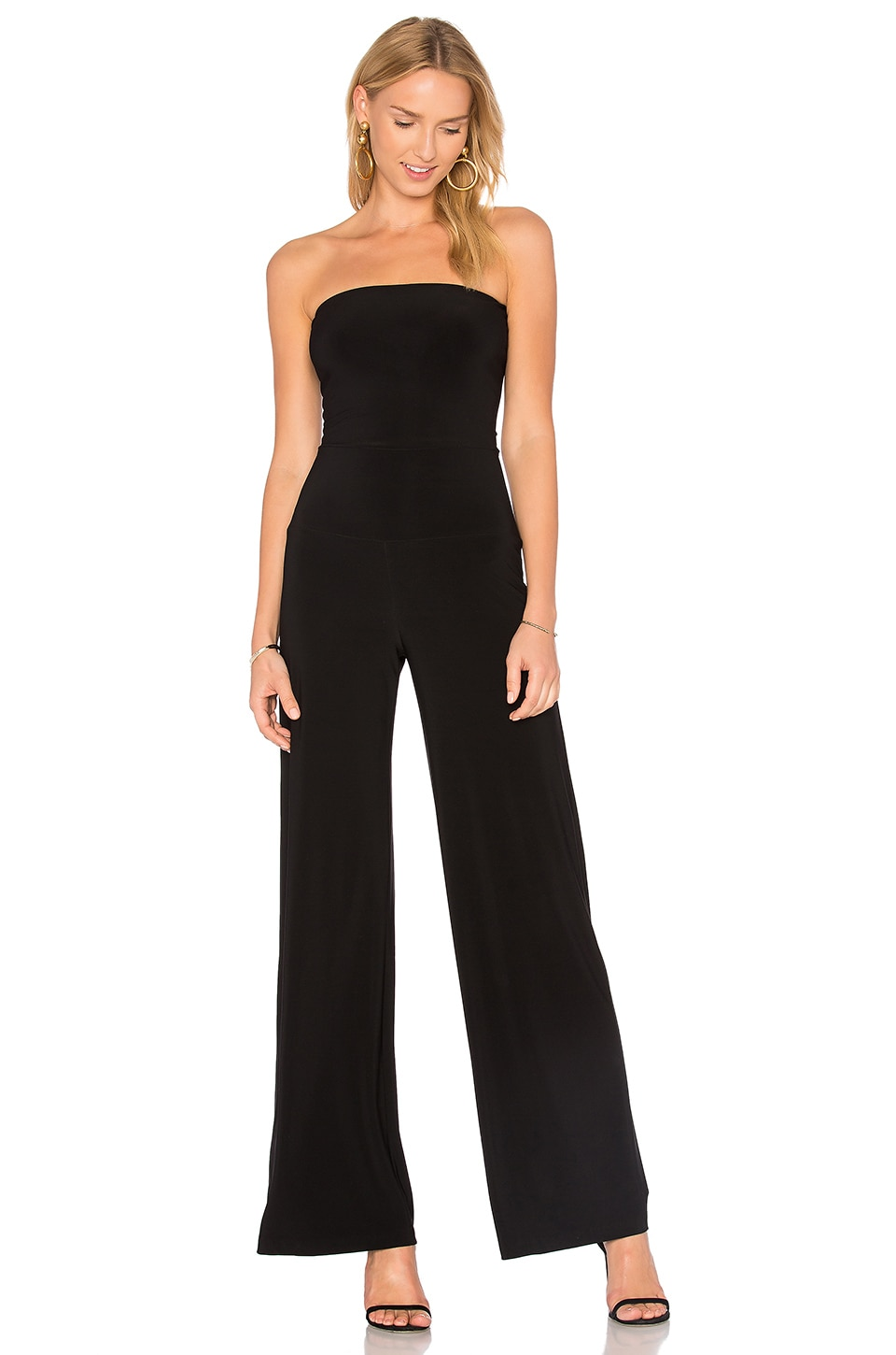 Strapless Jumpsuit by Norma Kamali