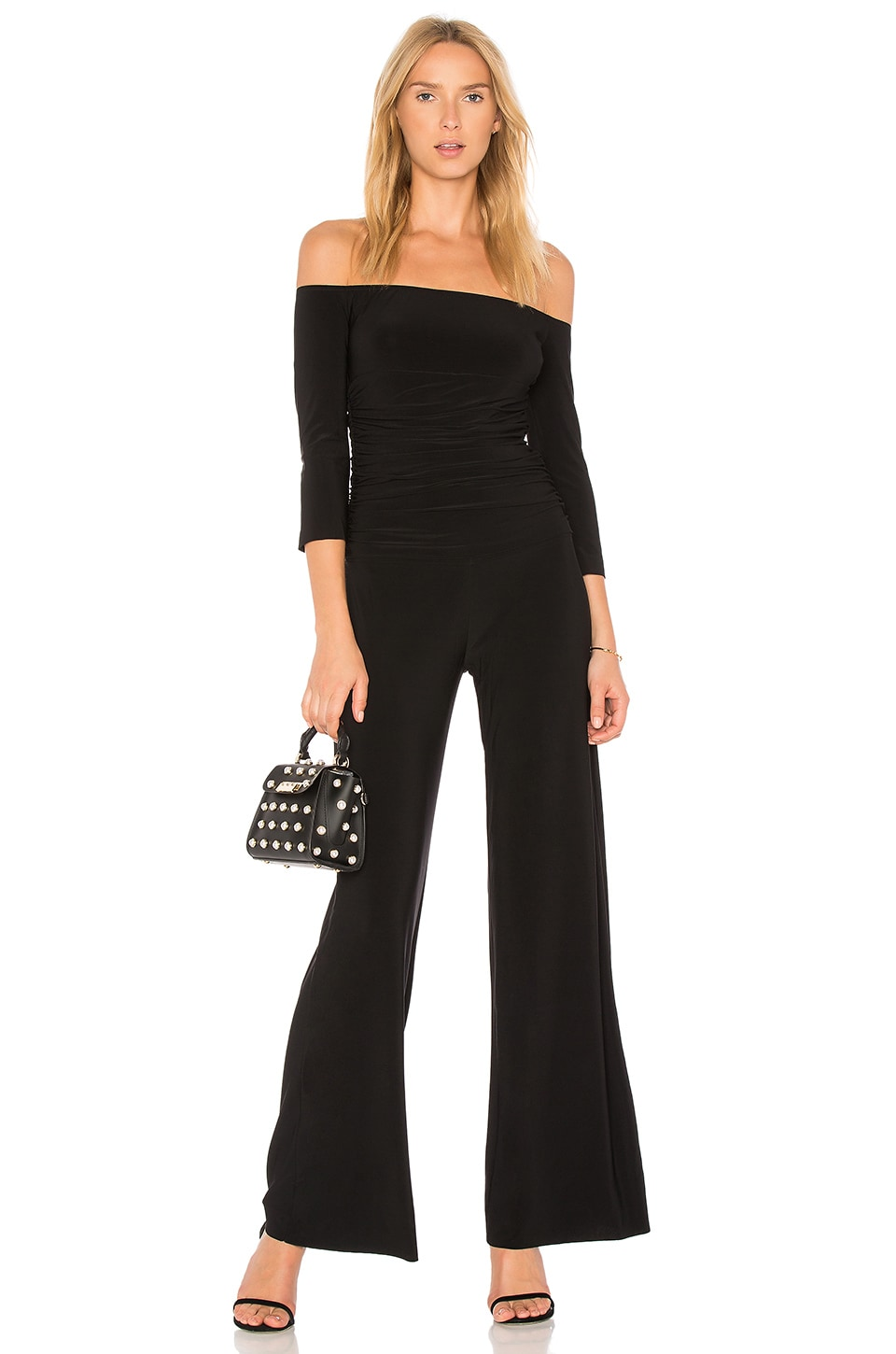 Off the Shoulder Jumpsuit by Norma Kamali