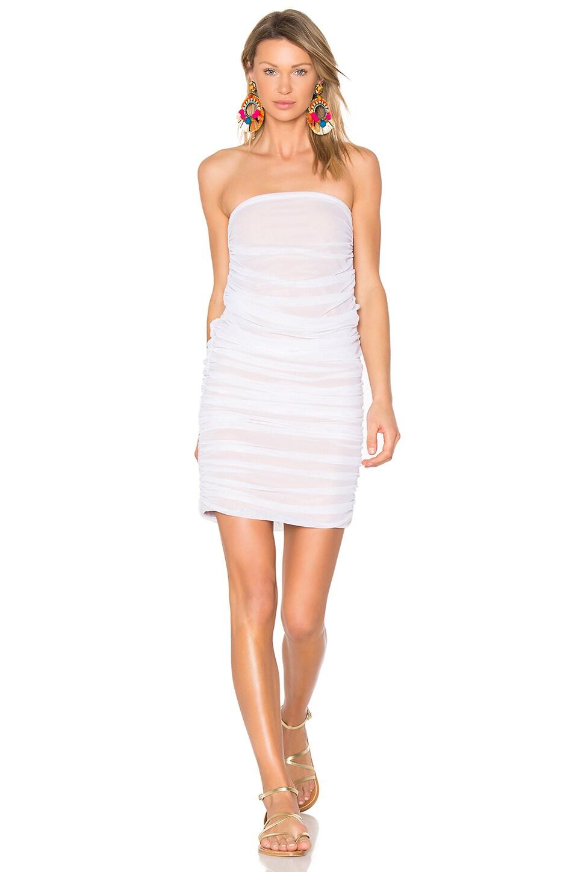 Shirred Dress & Skirt by Norma Kamali