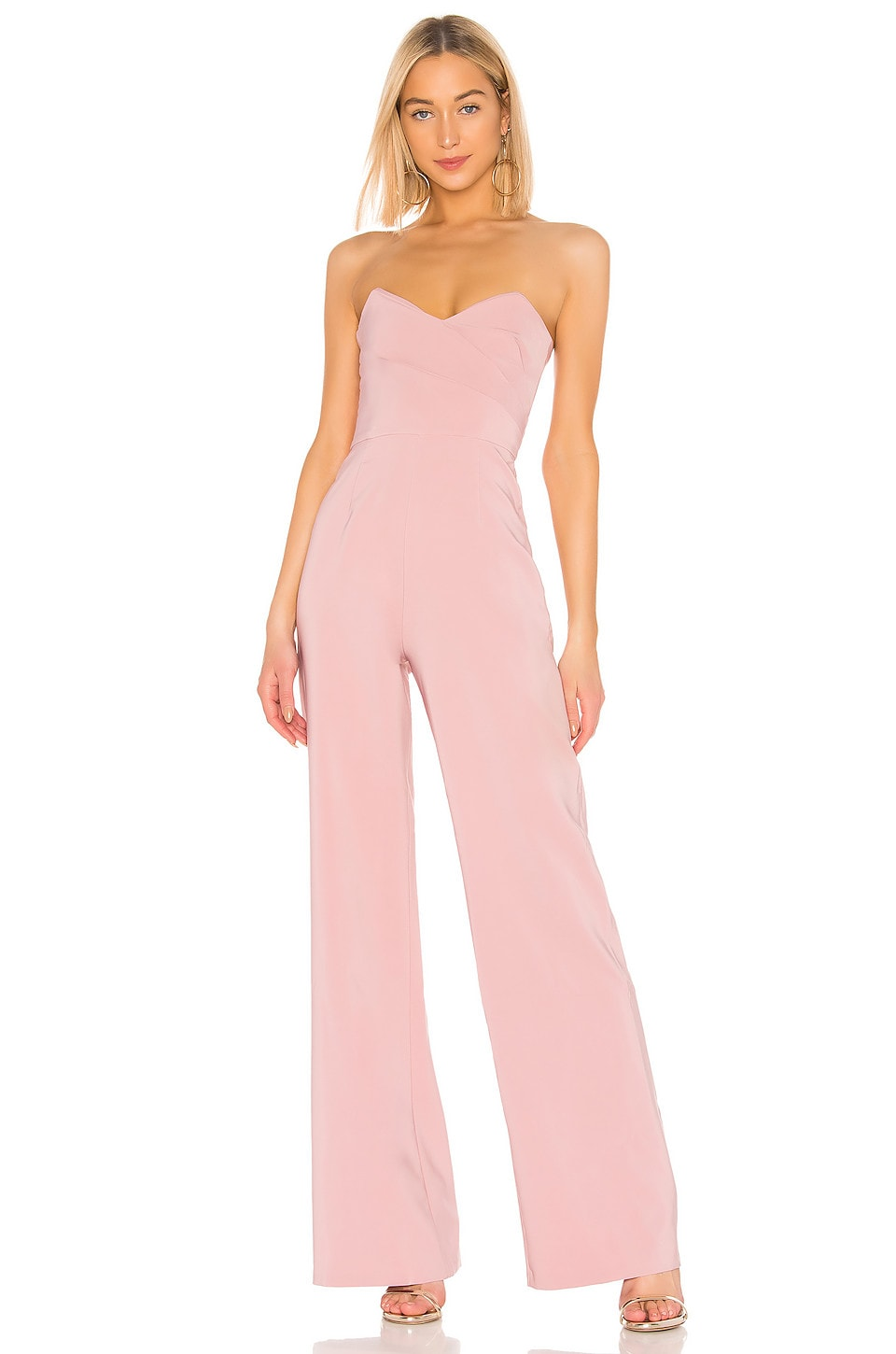 Nookie Bisous Jumpsuit in Dusty Pink