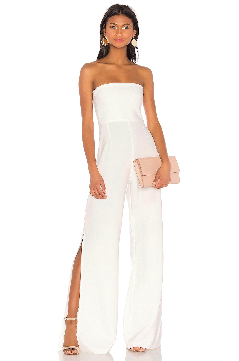 Nookie Glamour Jumpsuit en White