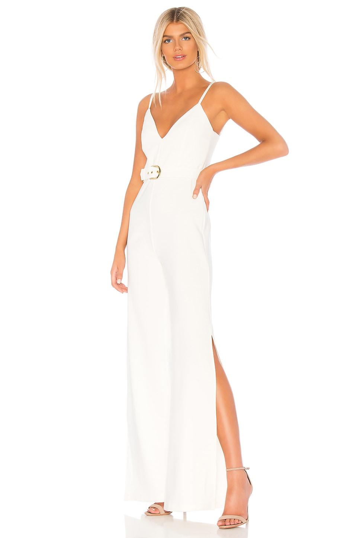 Nookie Blake Jumpsuit in White