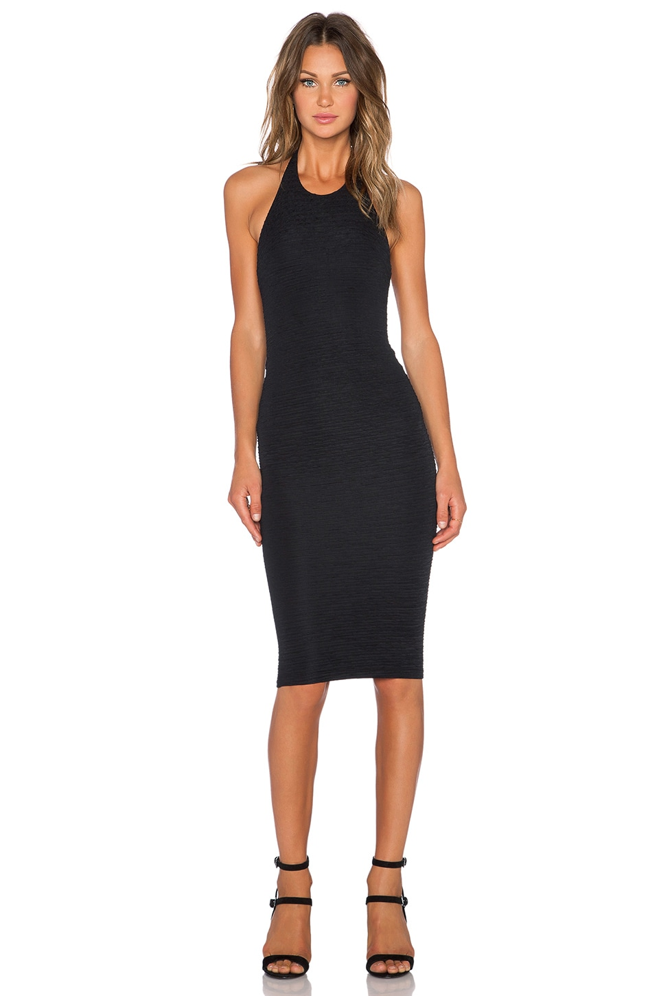 Nookie Casablaca Backless Dress in Black