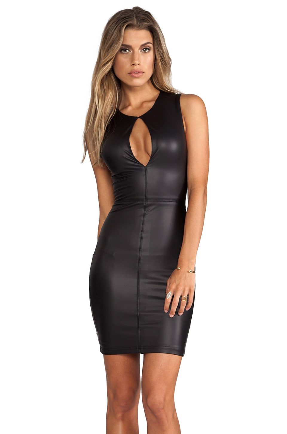 Nookie Easy Ryder Keyhole Dress in Black