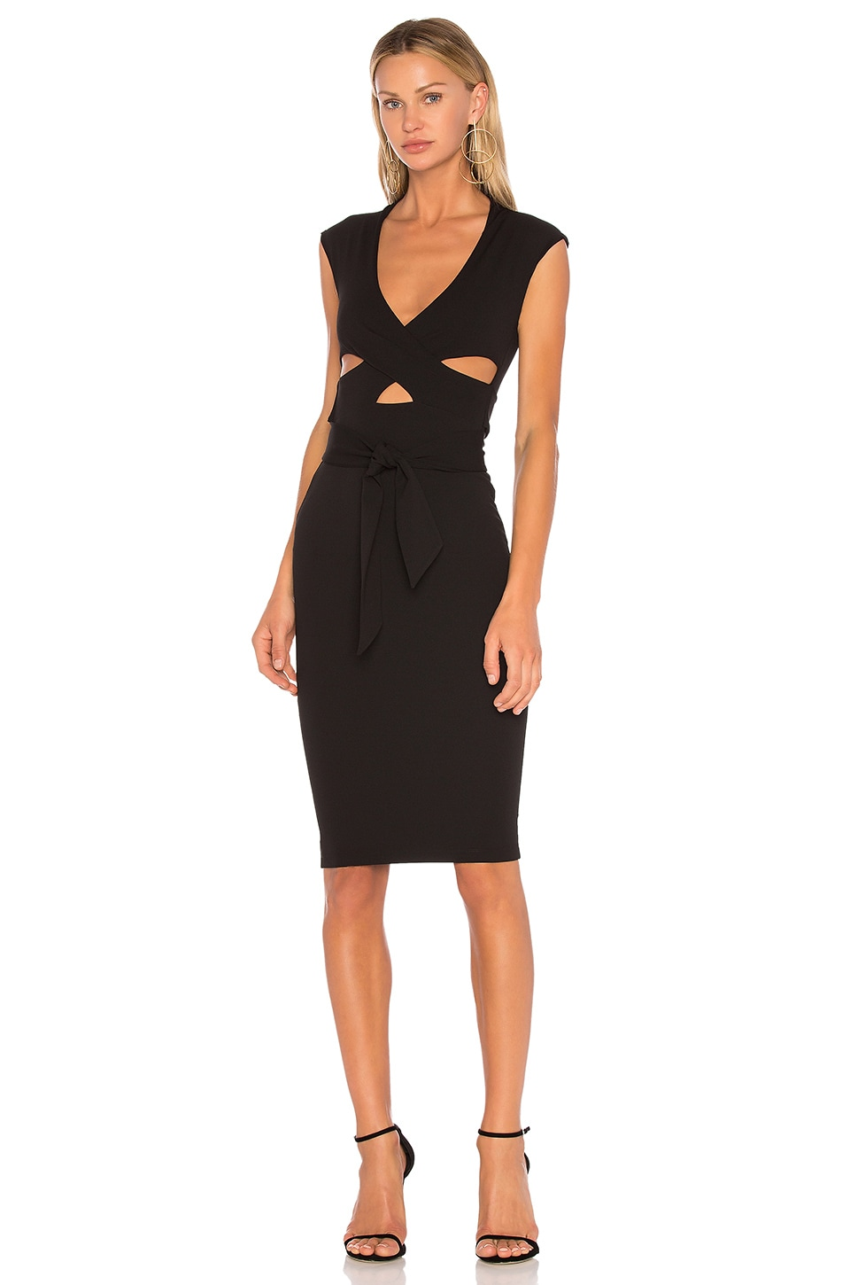 Nookie Miami Midi Dress in Black