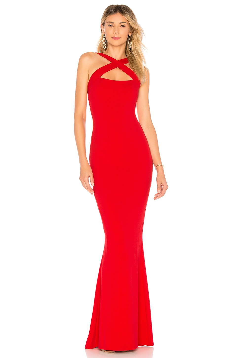 Nookie Viva 2Way Gown in Red