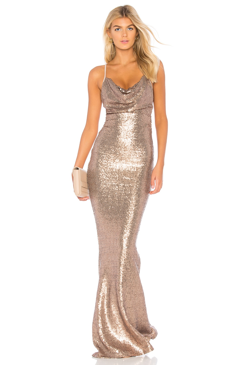 Nookie Seduce Gown in Bronze