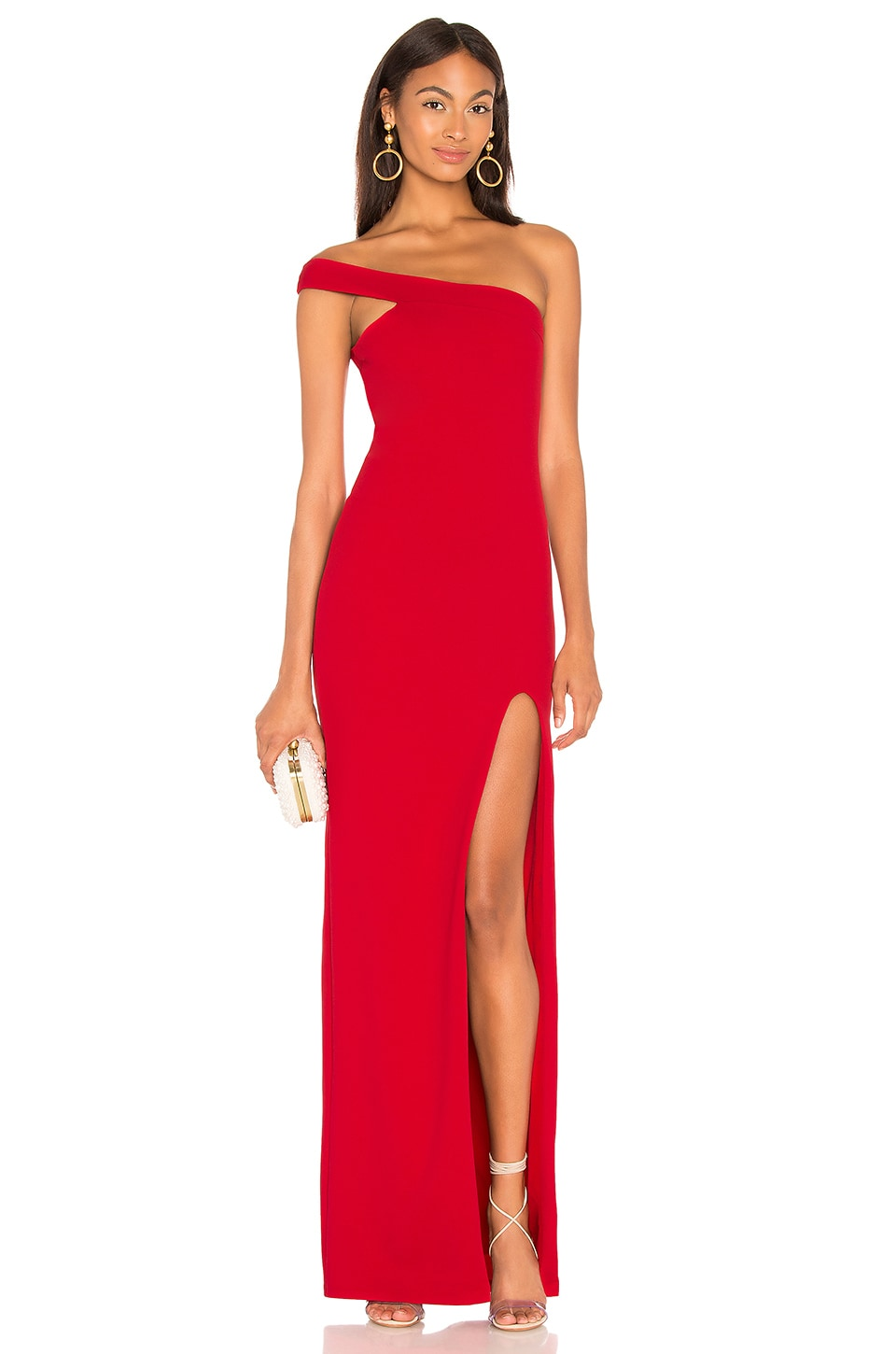 Nookie X REVOLVE Mila Gown in Flame