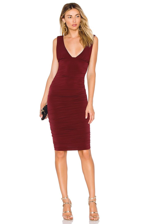 Jolie Plunge Midi Dress