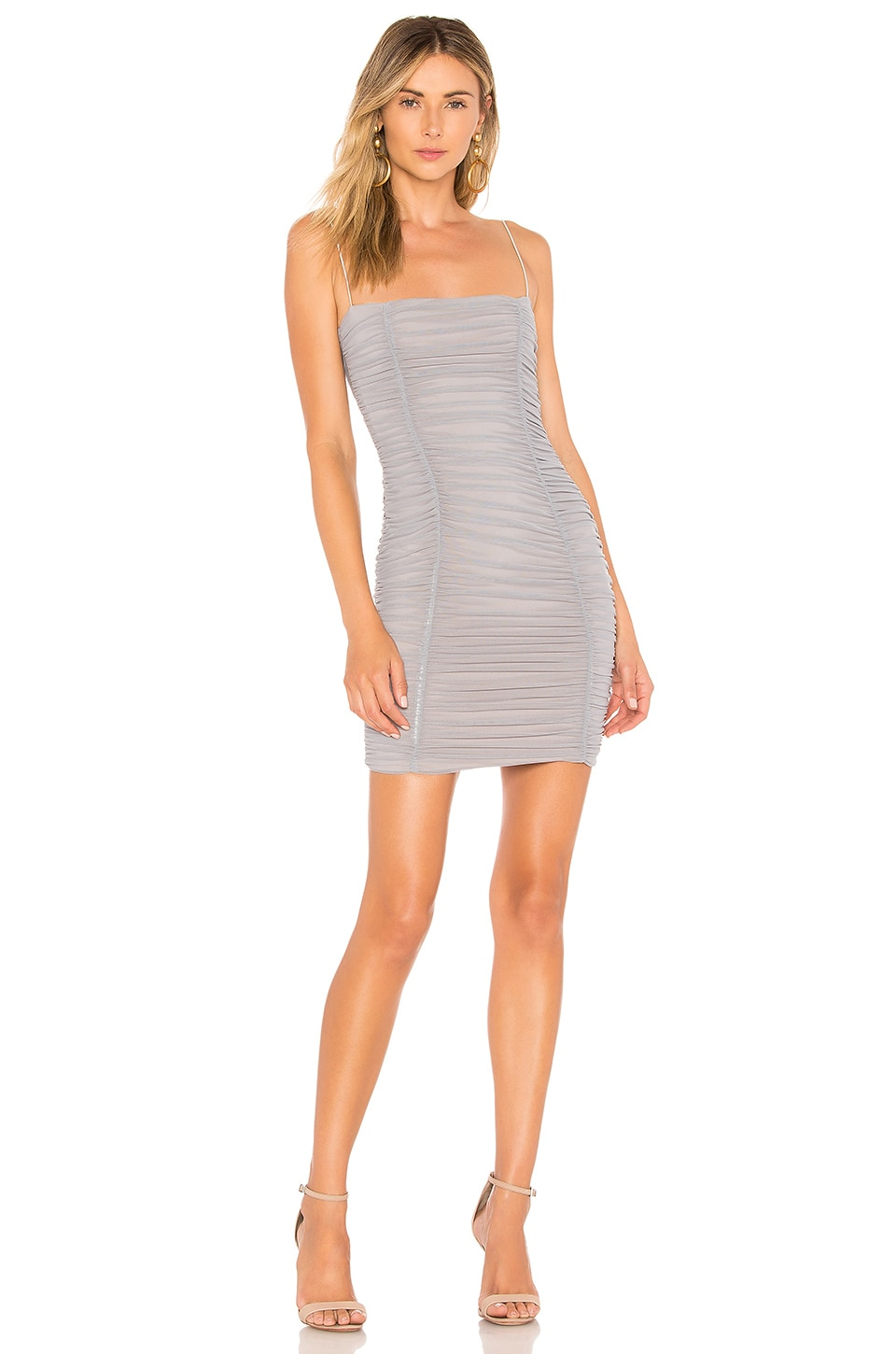 Mystic Mesh Mini Dress