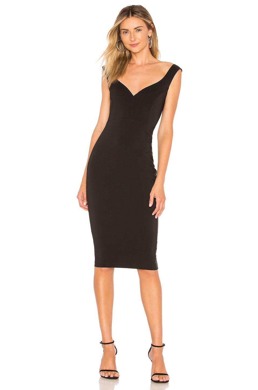 Nookie Magic Midi Dress in Black