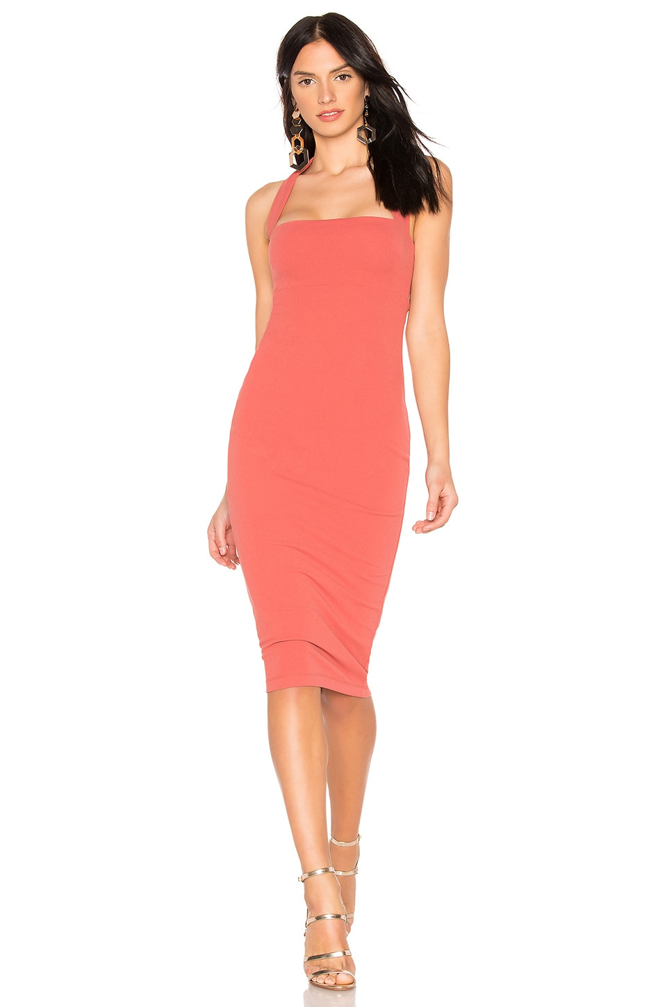 Nookie X REVOLVE Boulevard Midi Dress in Tuscan Rose