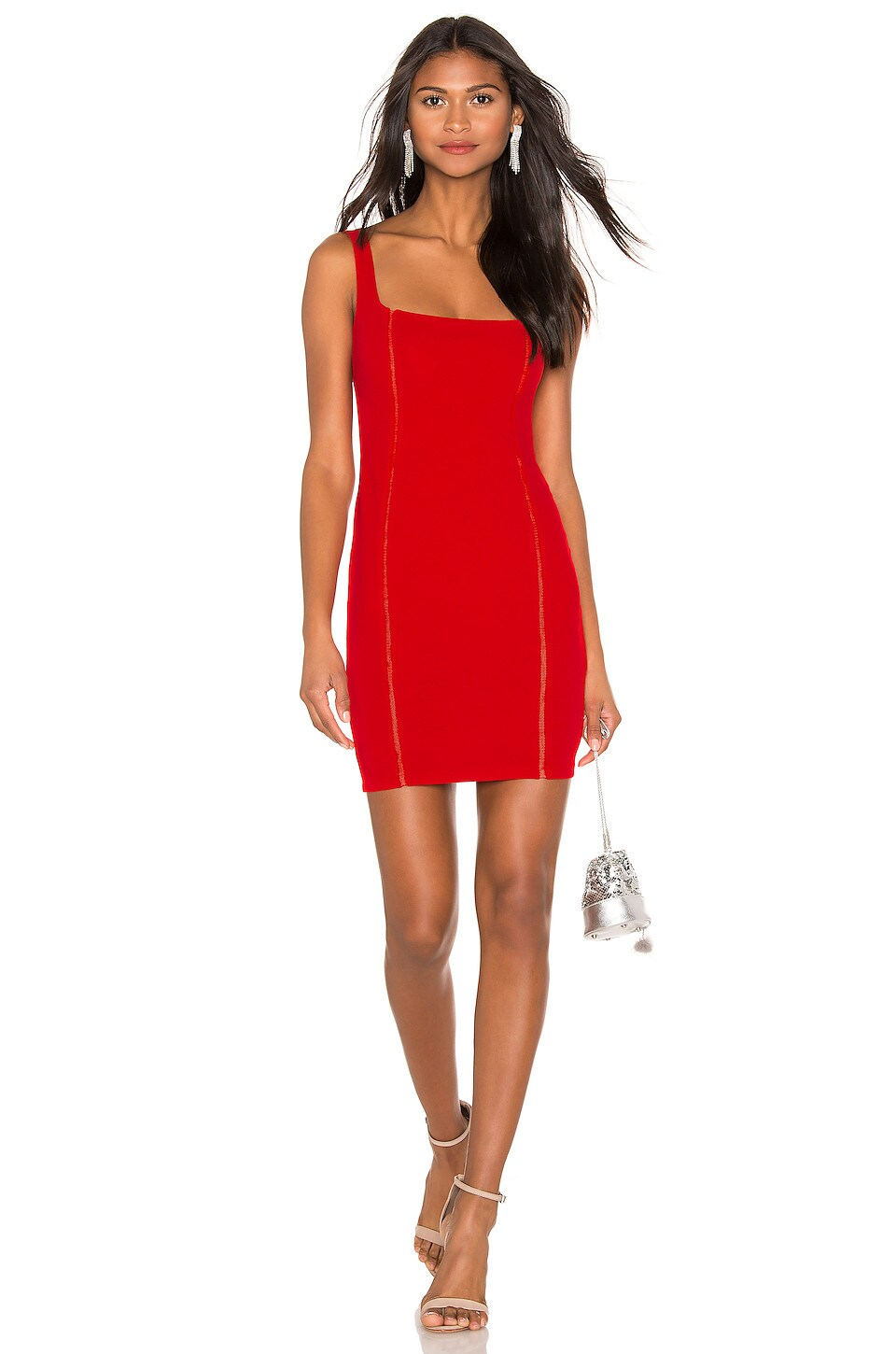 Nookie Chicago Mini Dress in Red