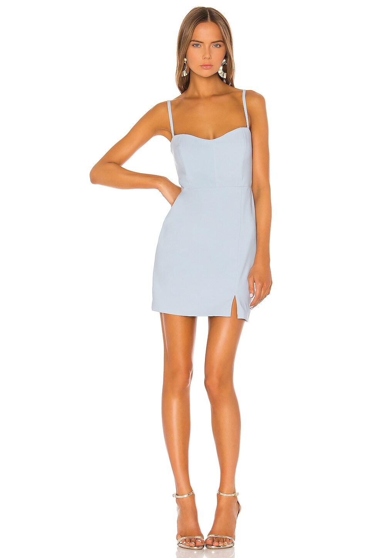 Nookie Muse Mini Dress in Powder Blue