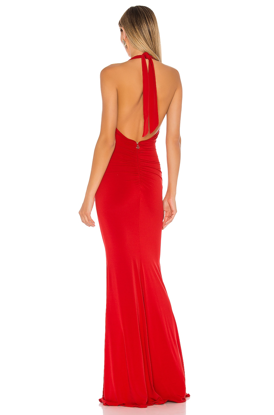 Illegal Halter Gown, view 3, click to view large image.