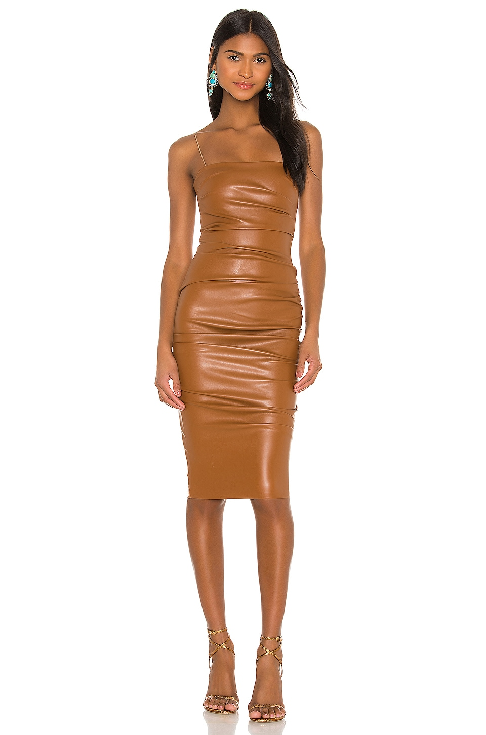 Nookie Posse X Revolve Faux Leather Midi Dress In Brown Revolve Revolve reviews and revolve.com customer ratings for january 2021. nookie