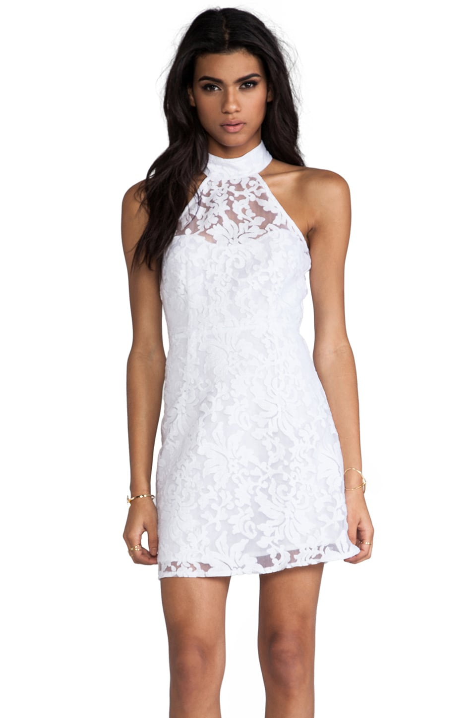 Nookie Sweetest Taboo Dress in White