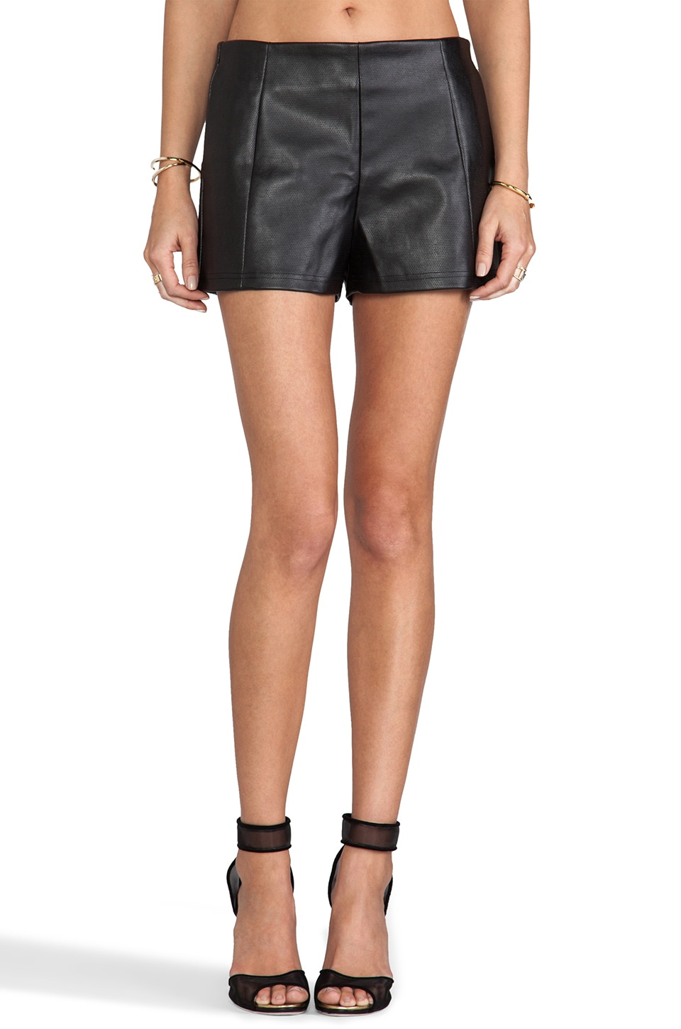 Nookie Oracle Shorts in Black