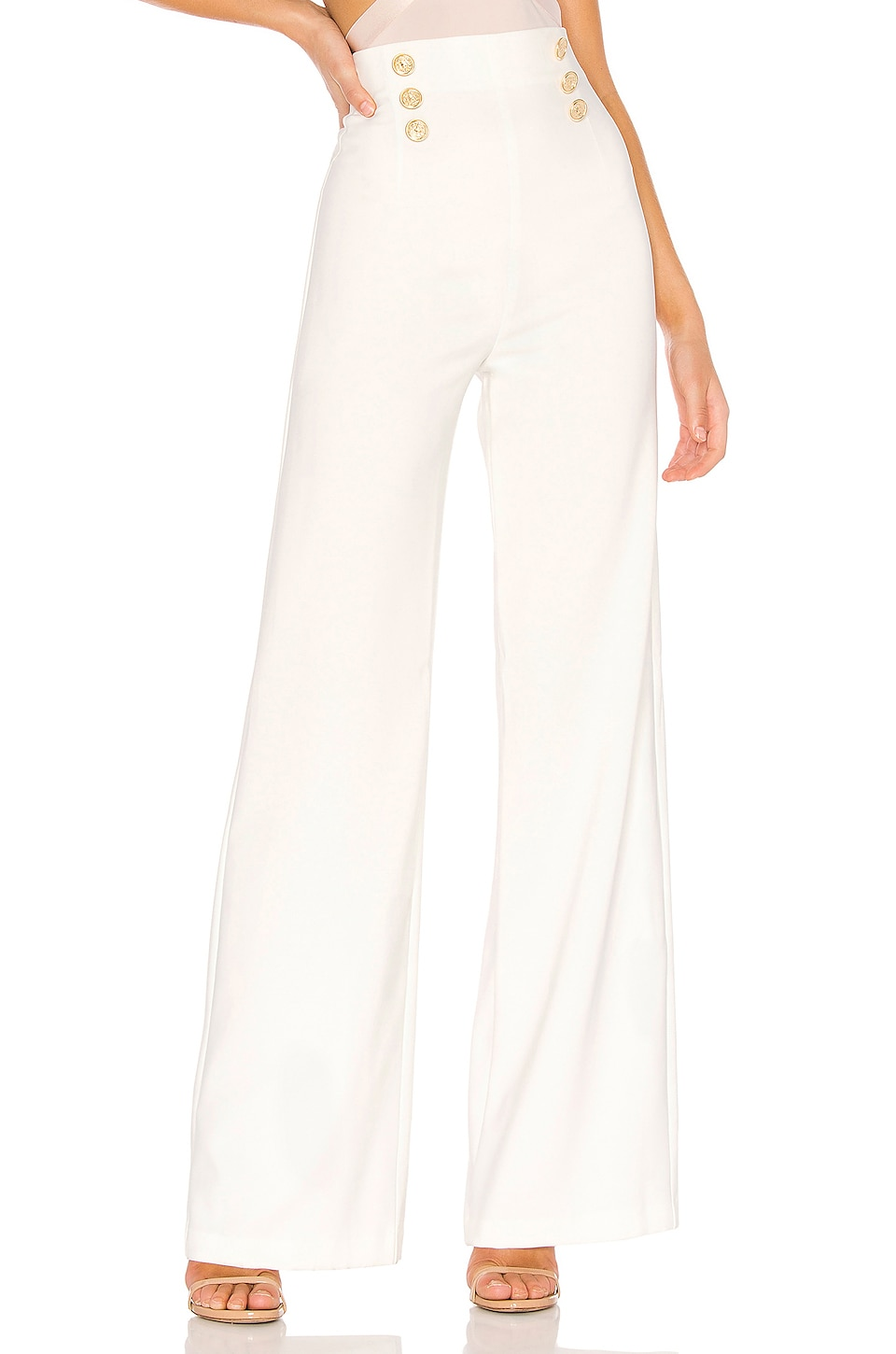 Nookie Milano Pant in White