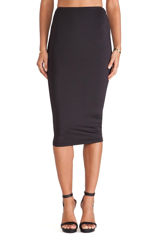 Nookie Casino Pencil Skirt in Black