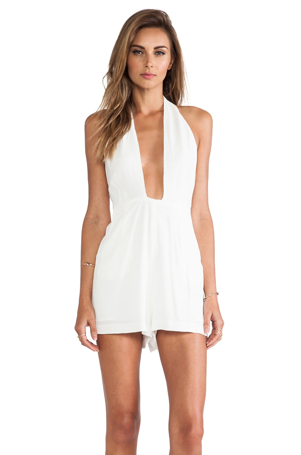 Nookie Encore Romper in White