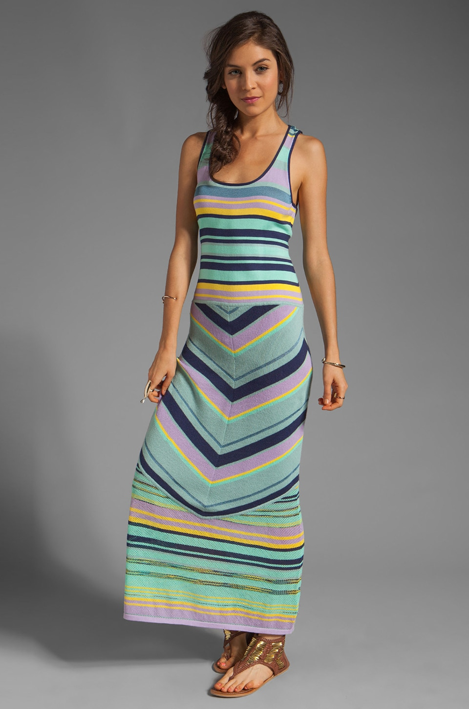 Nanette Lepore Issos Dress in Indigo Multi