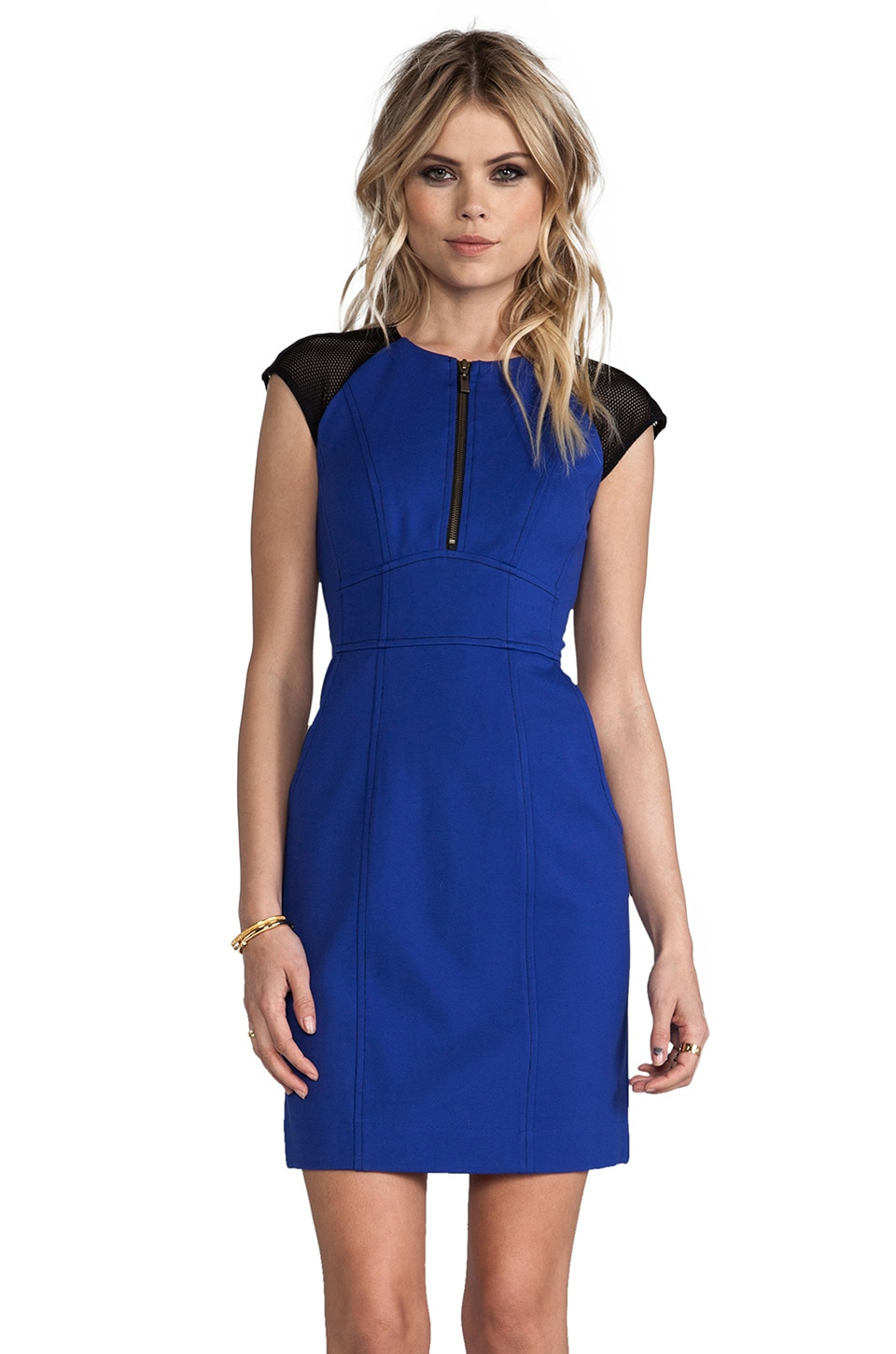 Nanette Lepore Rabat Ponte Tahmira Dress in Marine