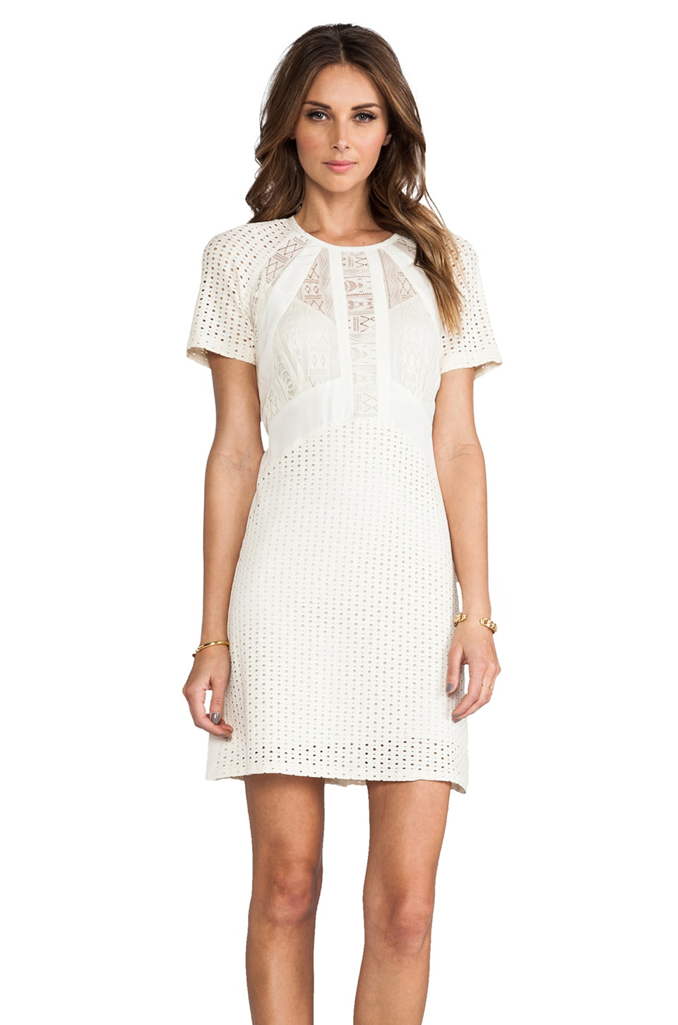 Nanette Lepore Nomad Dress in Ivory