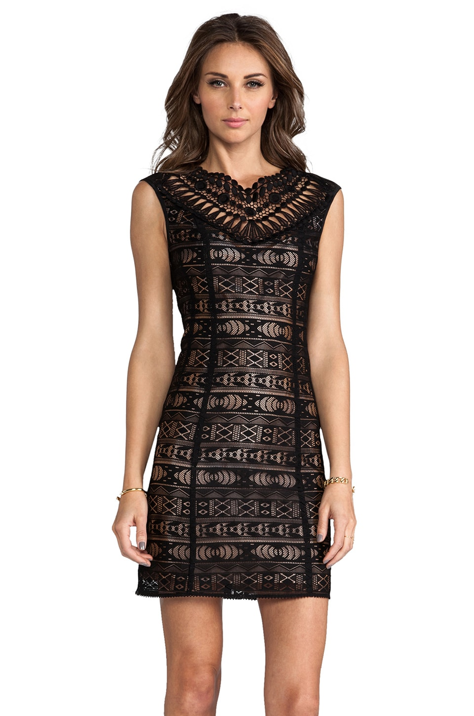 Nanette Lepore Sunrise Dress en Noir