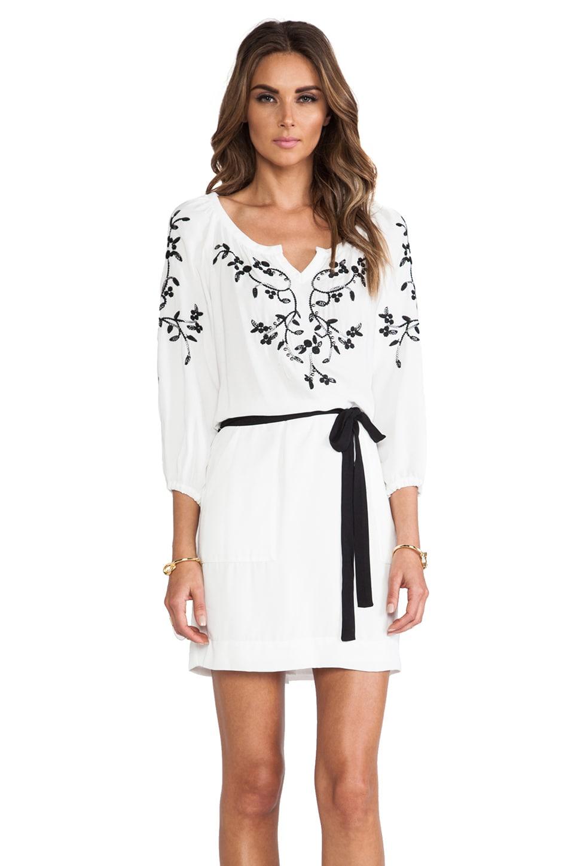 Nanette Lepore Tough Love Dress in White