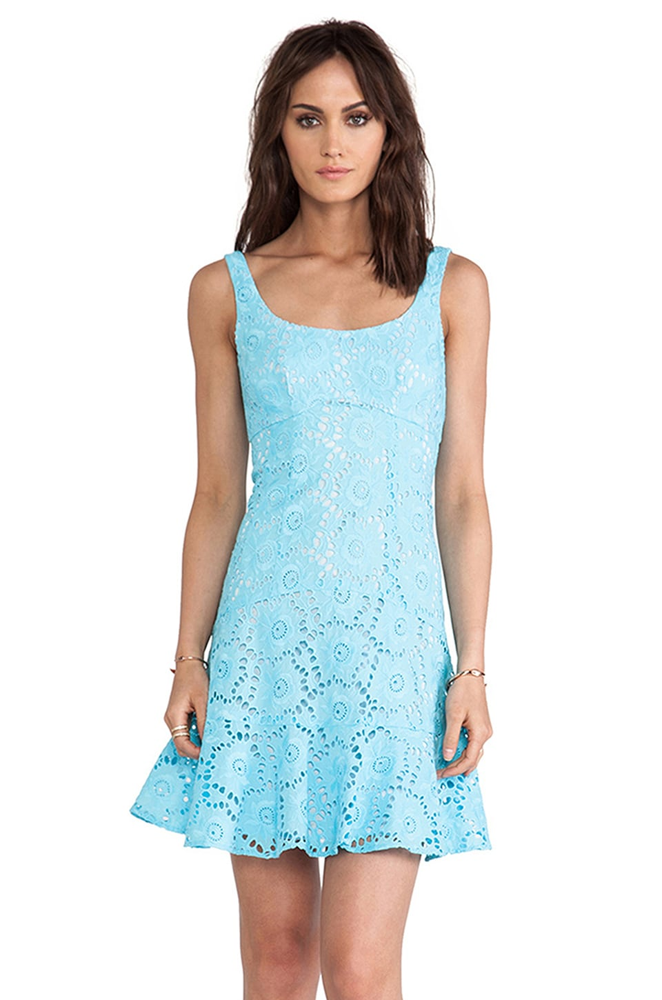 Nanette Lepore Summer Dress in Blue Sky