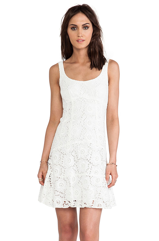 Nanette Lepore Summer Dress in Ivory