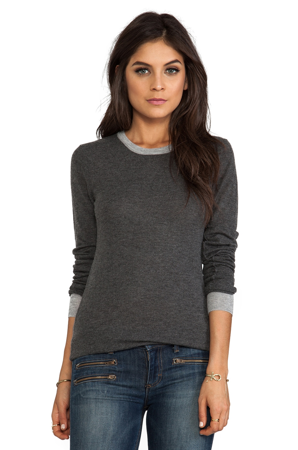 Nanette Lepore Jupiter Sweater in Pebble/Fog