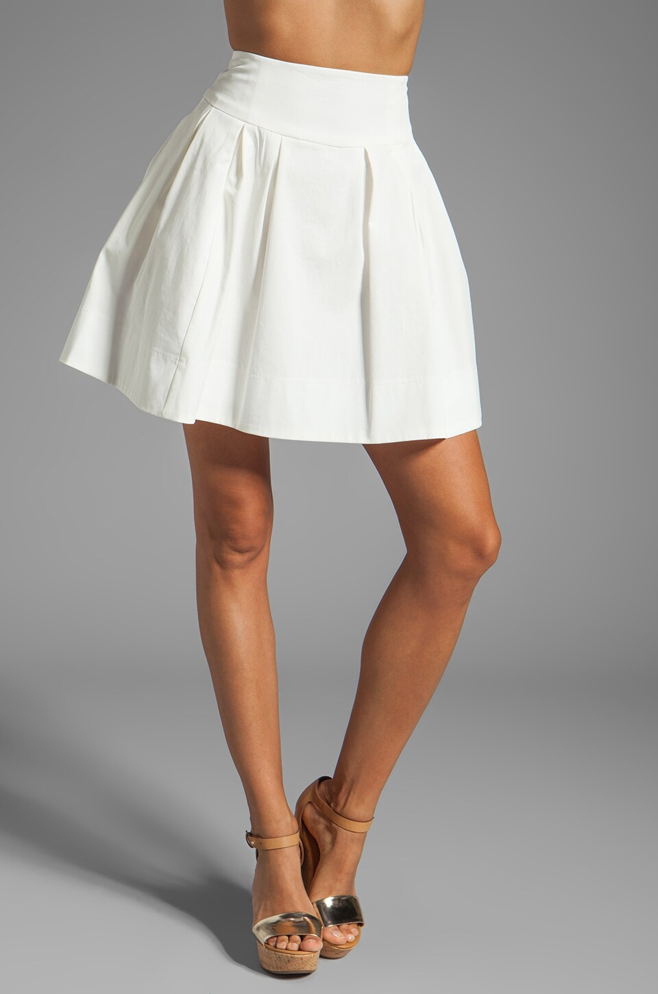 Nanette Lepore Beach Time Skirt in White