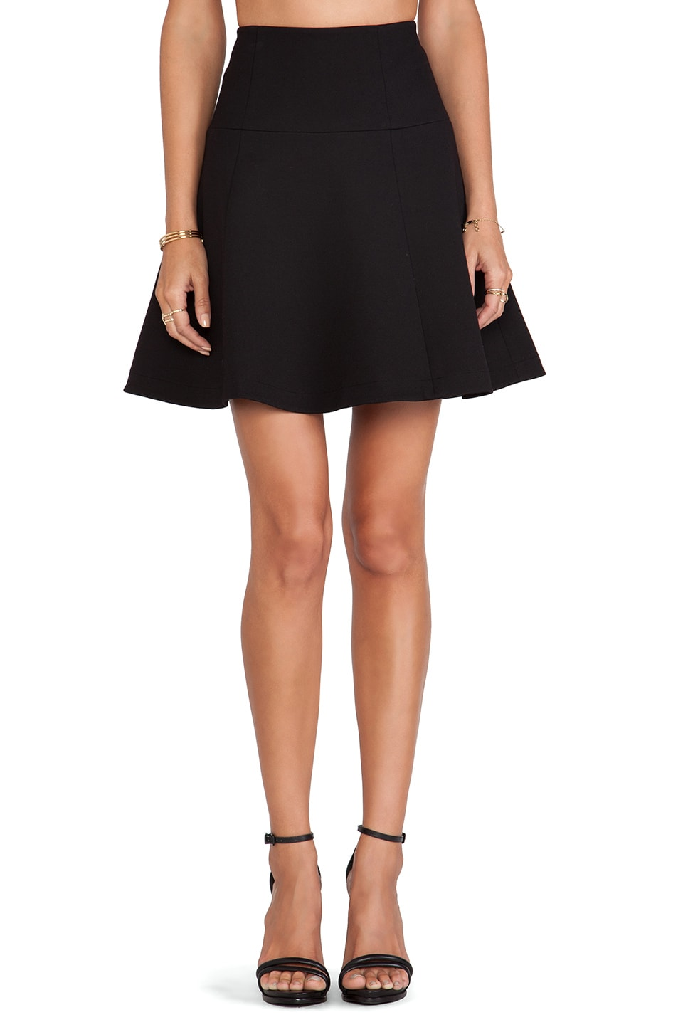 Nanette Lepore Author Skirt in Black