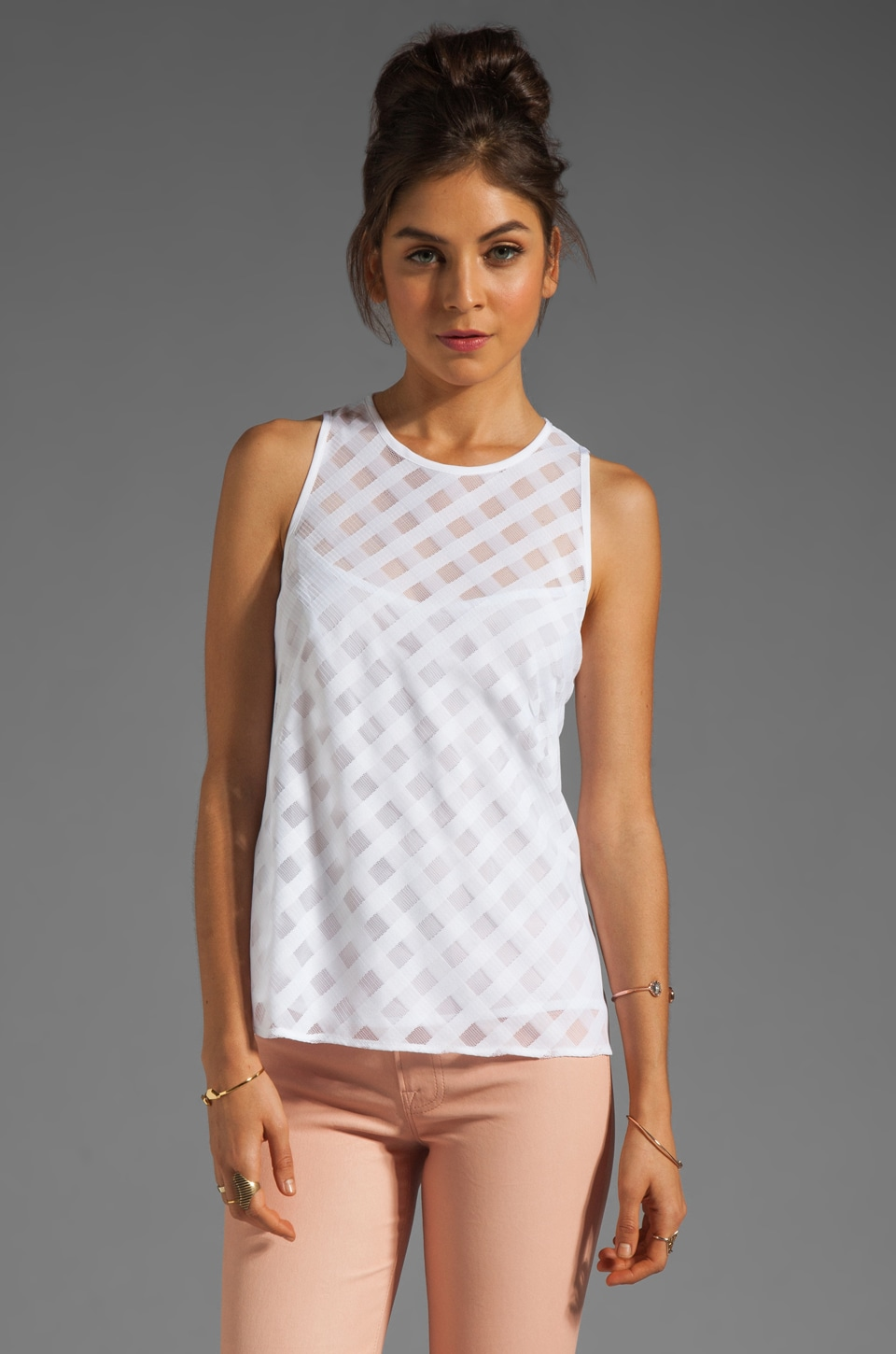 Nanette Lepore Beat Juggler Top in White