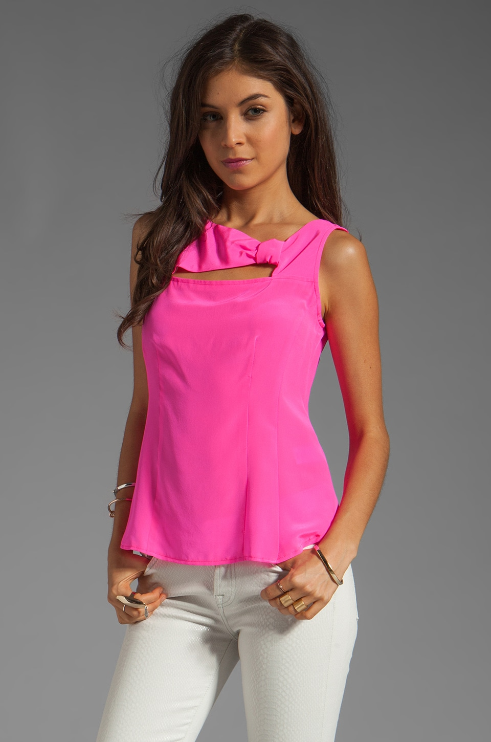 Nanette Lepore Venus Top in Bubblegum