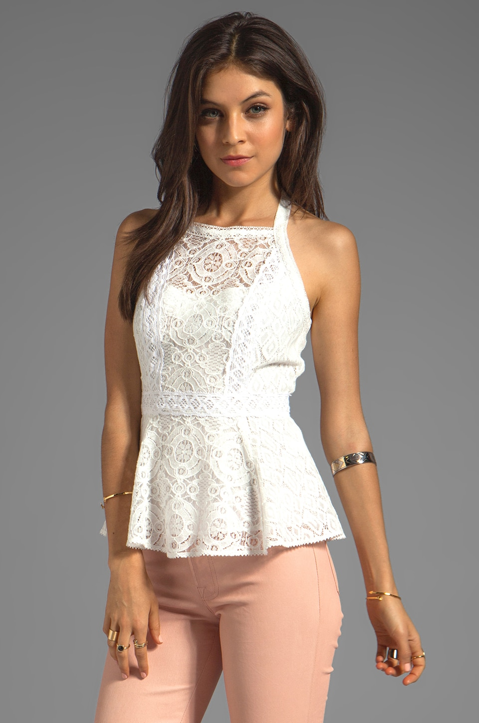 Nanette Lepore Must-See Top in White