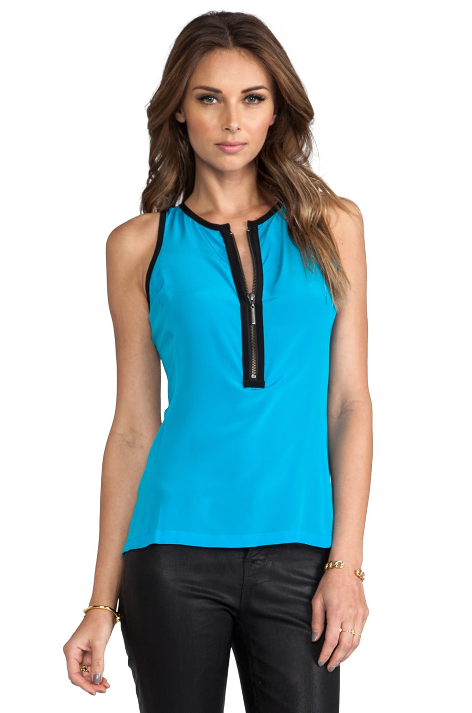 Nanette Lepore Visionary Top in Cyan