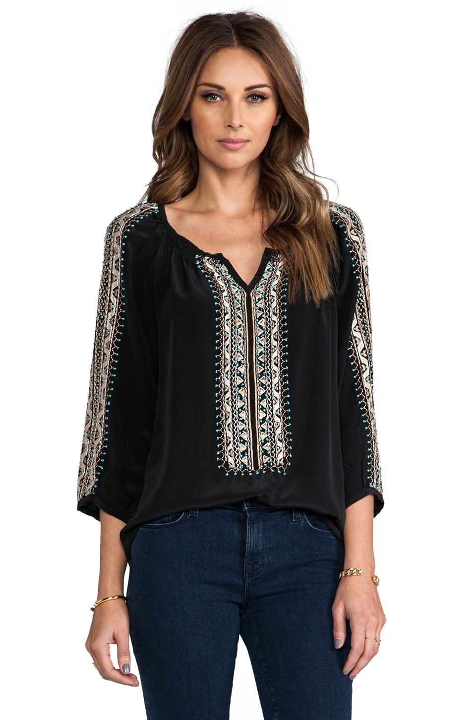 Nanette Lepore Tipis Top in Black