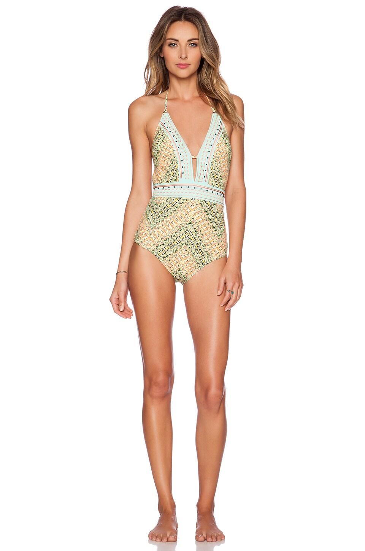 Nanette Lepore Paso Robles Goddess Swimsuit in Multi