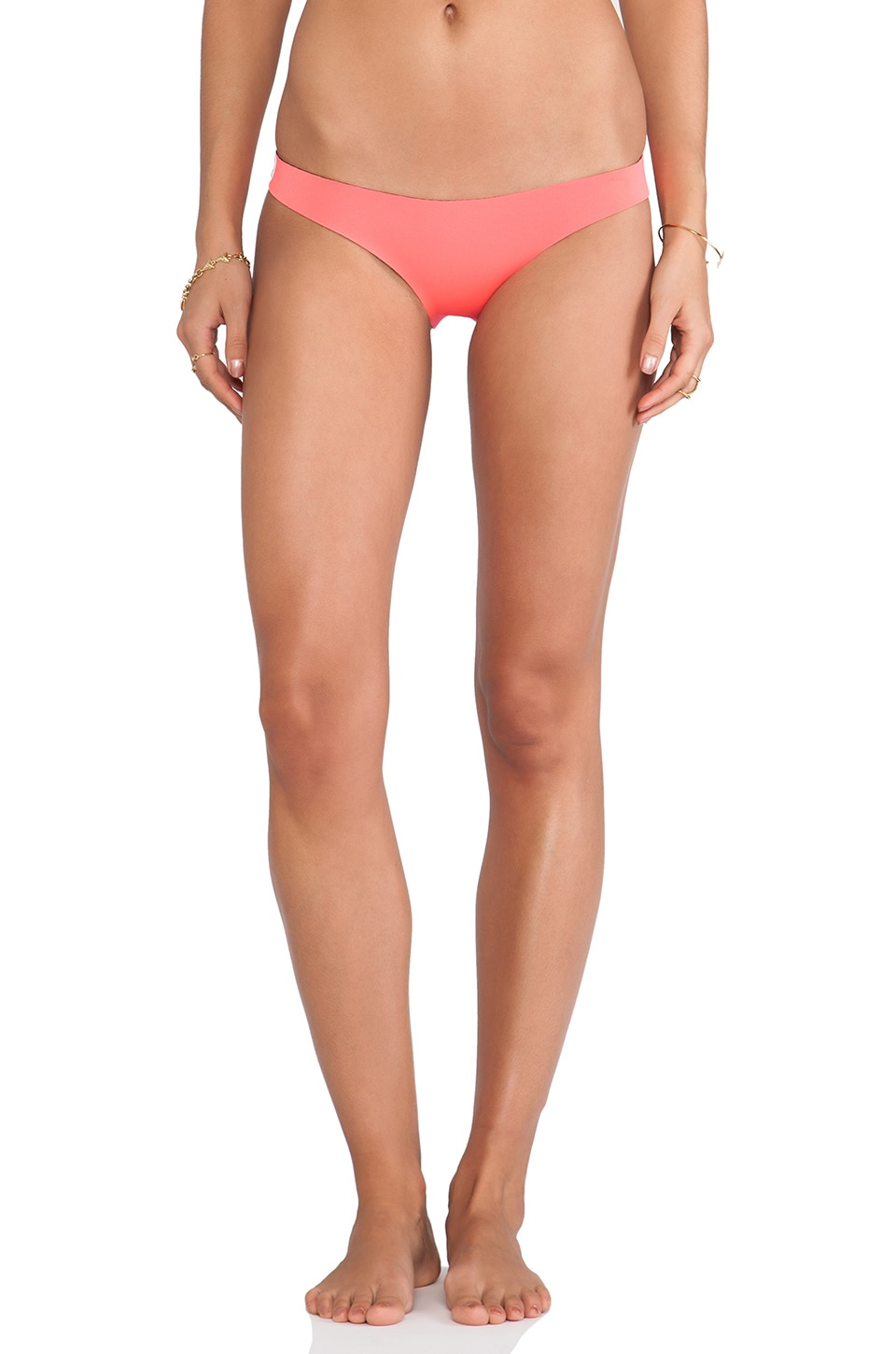N.L.P Brazilian Neoprene Bottom in Neon Pink
