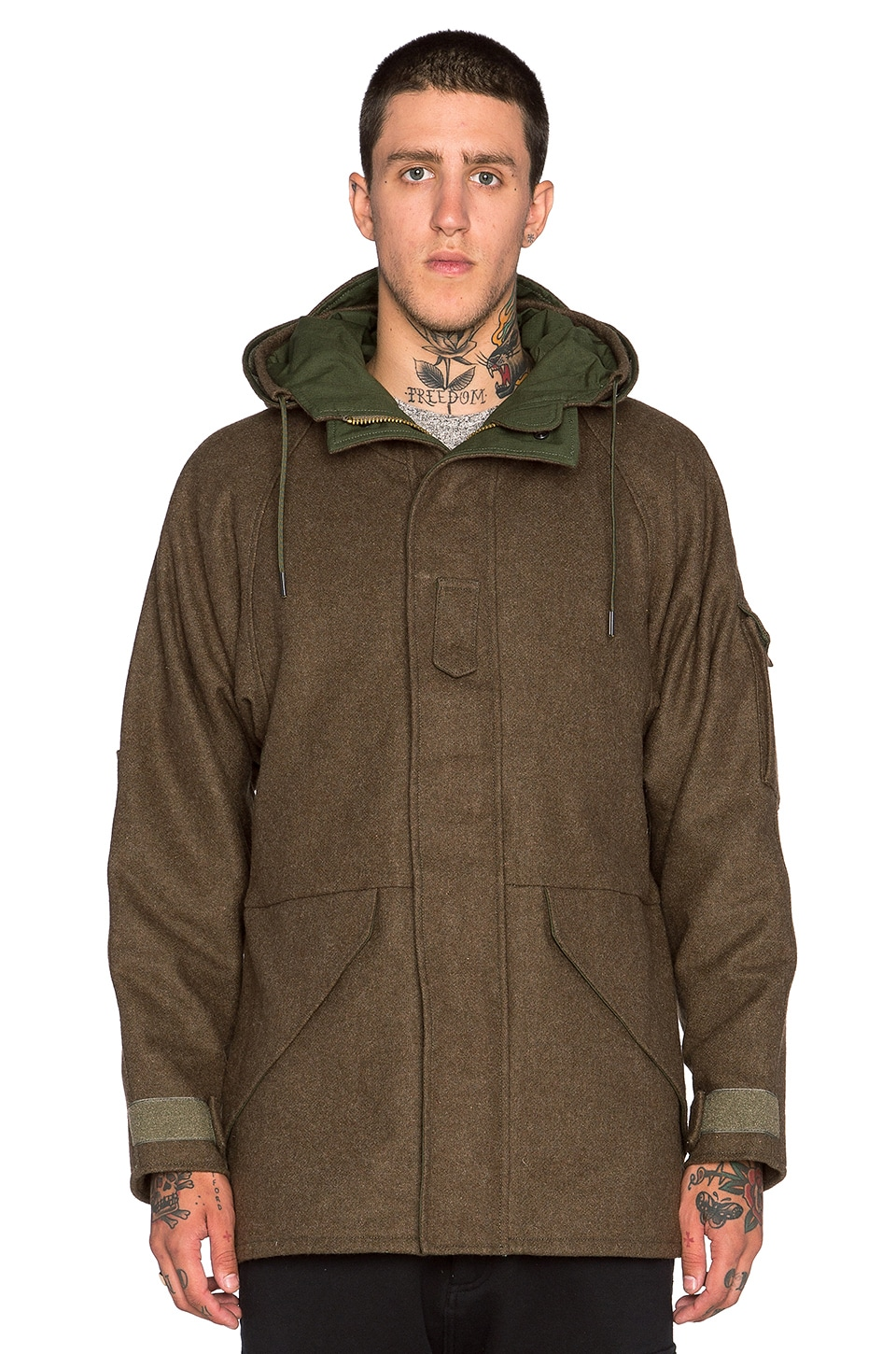 Wool Tech Parka