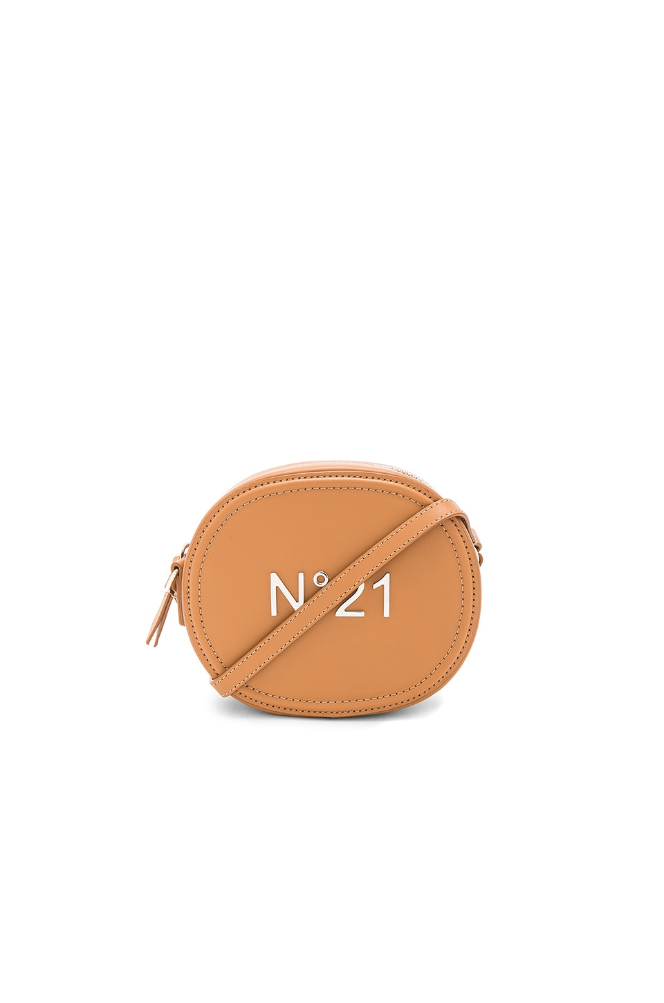 No. 21 Camera Bag in Camel