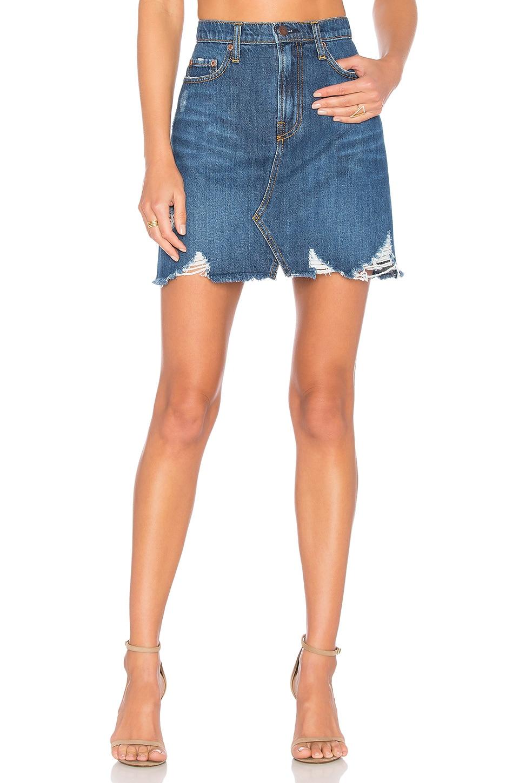 Nobody Denim Piper Skirt in Reclaimed