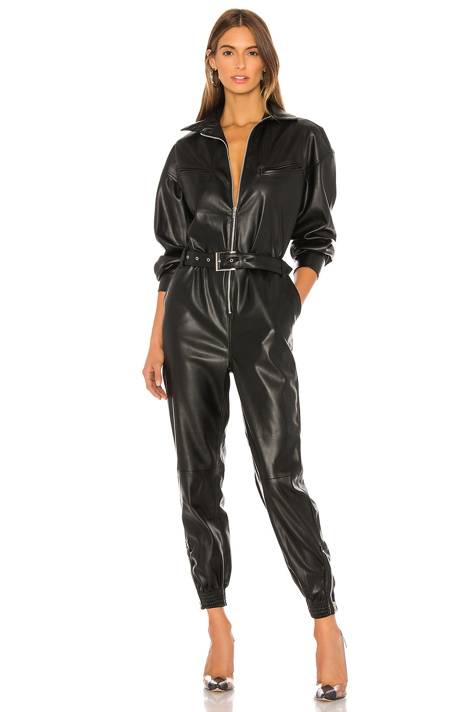 NONchalant Nat Jumpsuit in Black