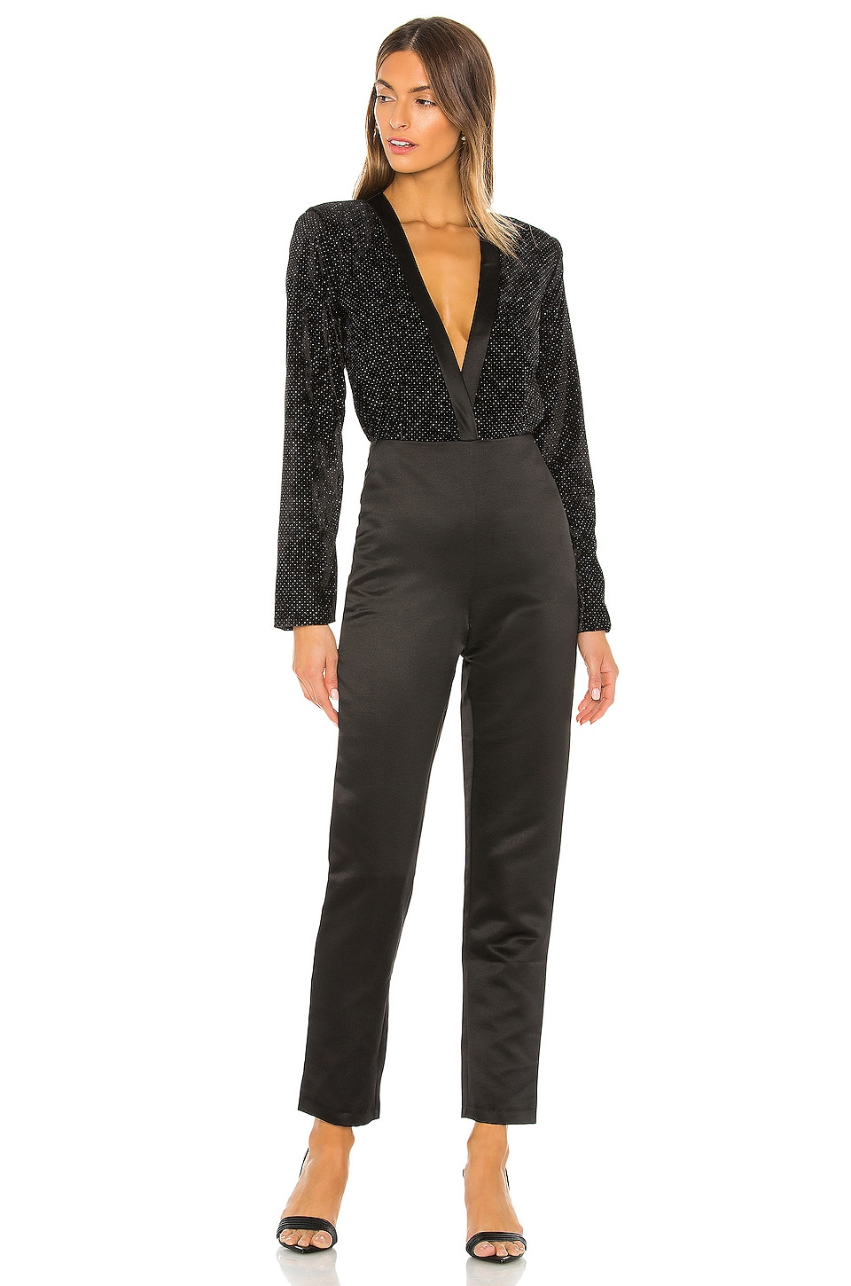 NONchalant Hadley Jumpsuit in Black