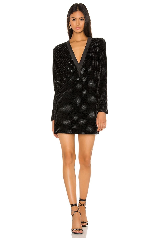 NONchalant Sienne Mini Dress in Black