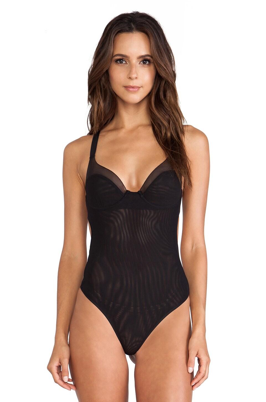 NOE Undergarments Zachary Underwire Bodysuit in Black