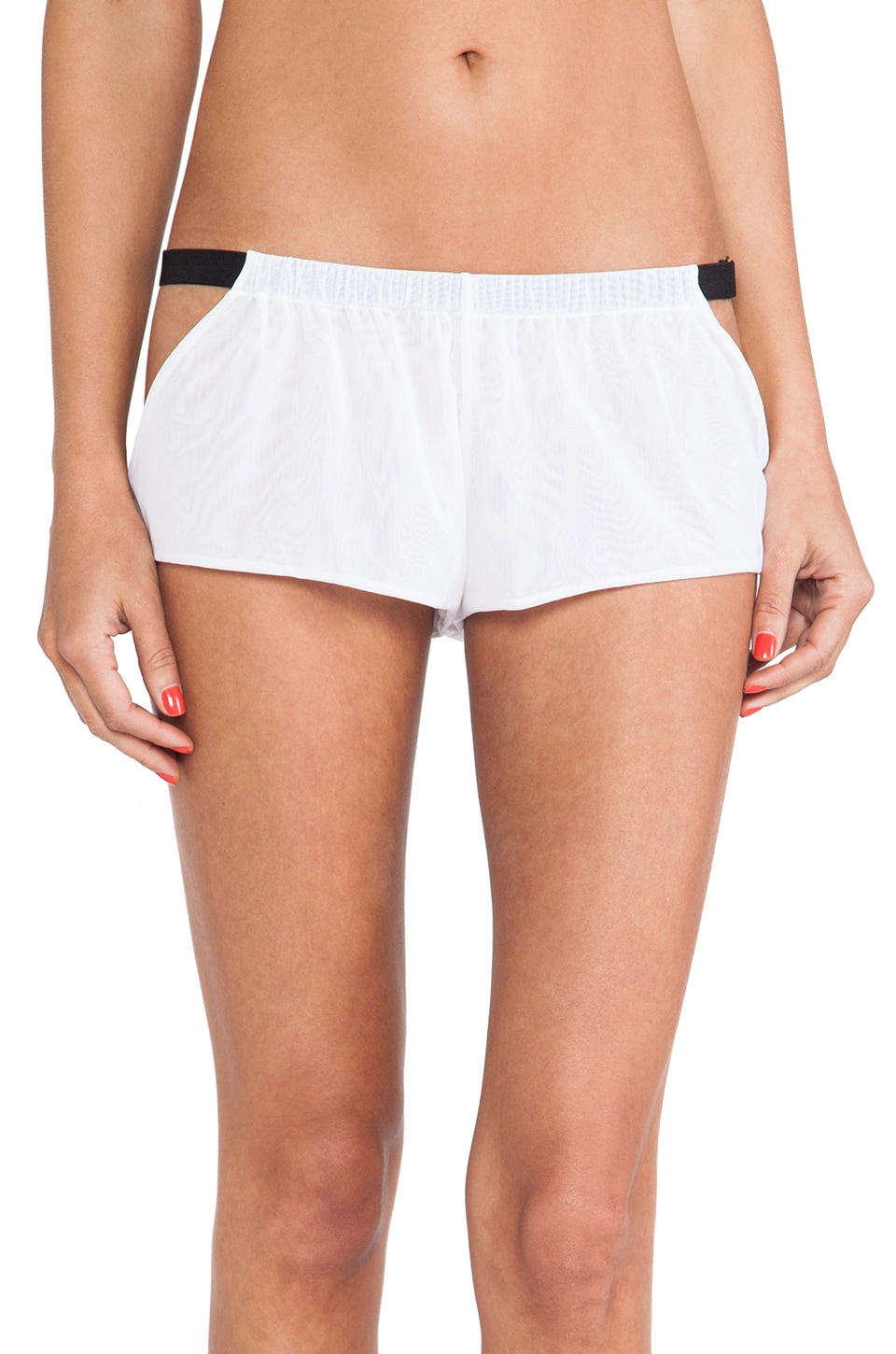 NOE Undergarments Peter Tap Short in White